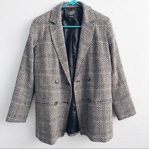 Pendleton Virgin Wool Tweed Plaid Blazer